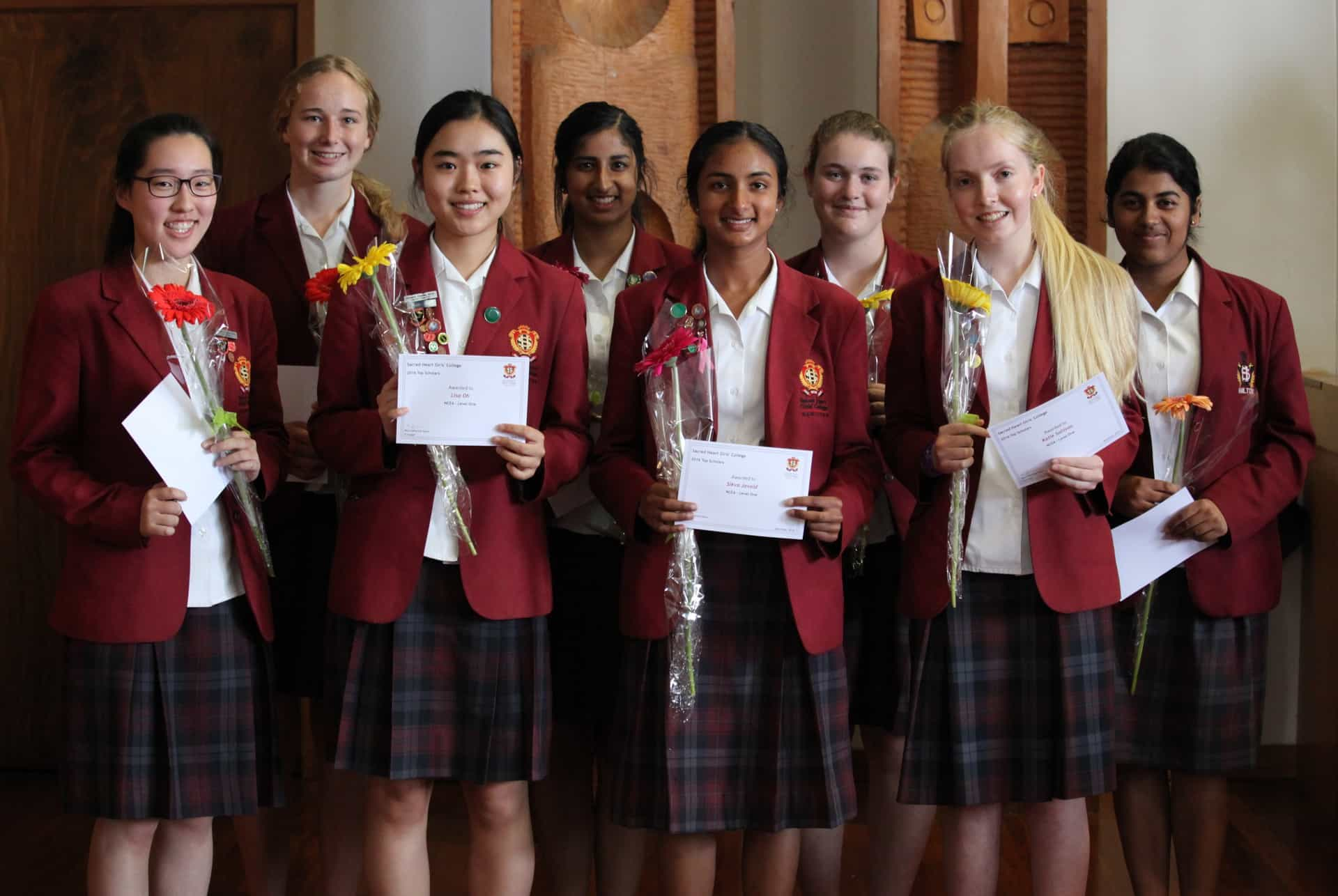 2016 Year 11 Top scholars
