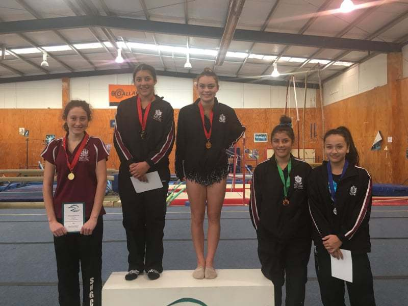 Waikato Secondary School Gymsport Competition