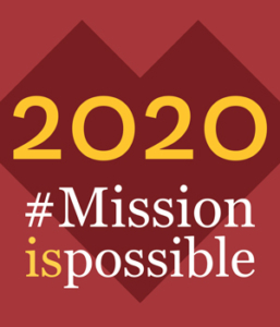 2020 #Mission is possible